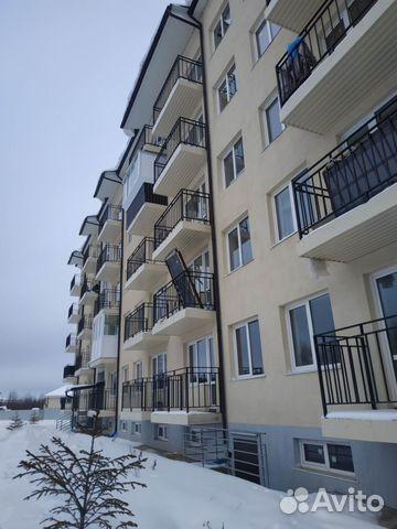 Продается однокомнатная квартира за 1 450 000 рублей. деревня Кабицыно, Боровский район, Калужская область, улица Гоголя, 23.
