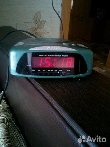 Радио часы будильник. 1982год выпуск Австрия 89068063274 купить 2
