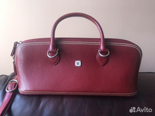 c65823e903e8 Женская кожаная сумка оригинальной формы купить в Москве на Avito ...