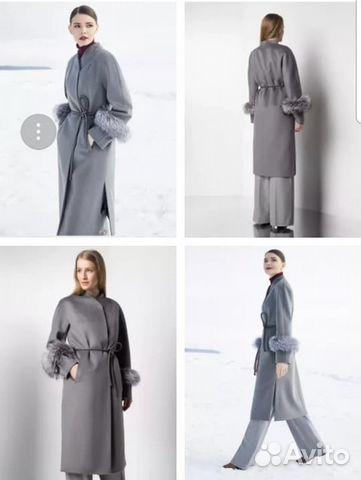 1b589584c5e Пальто женское демисезонное Pompa купить в Москве на Avito ...