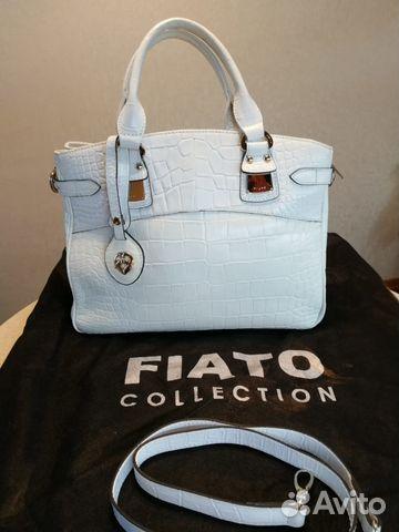 87311a806d7b Кожаная сумка Fiato белая летняя купить в Москве на Avito ...