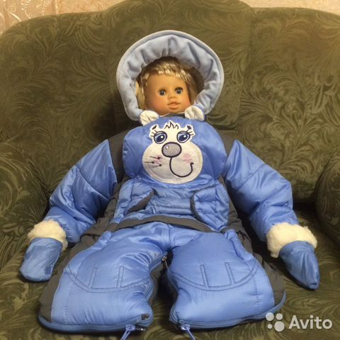 Зимний комбинезон для мальчика 89681115309 купить 1