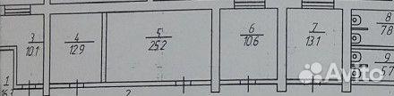 Помещение свободного назначения, 85.4 м² 89052241443 купить 2