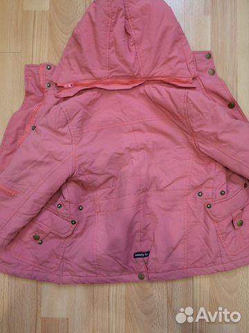 Куртка теплая для девочки