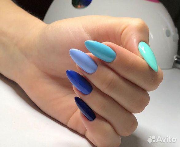 Наращивание ногтей, покрытие шеллак 89994311353 купить 3