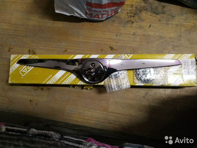 Накладка капота, накладка решетки радиатора  89022758386 купить 3