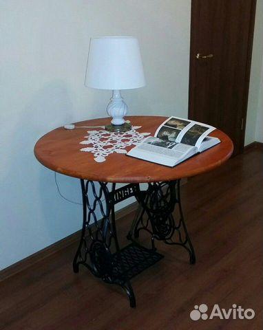 Стильный стол на станине от singer
