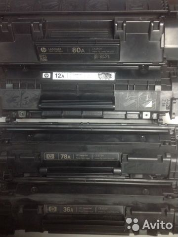 Ремонт и заправка картриджей HP
