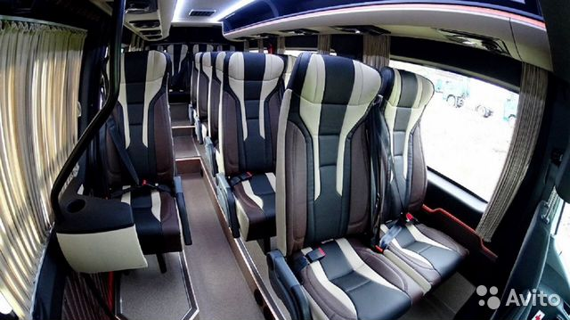 Аренда микроавтобуса Mercedes Sprinter Luxe 89272235665 купить 1