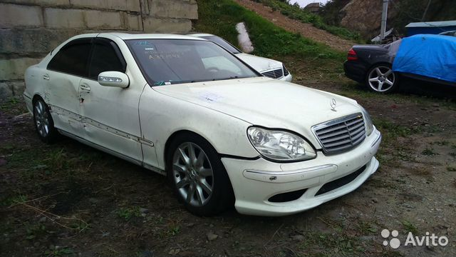 Запчасти на Mercedes-Benz S600L W220 BiTurbo 89143292009 купить 4