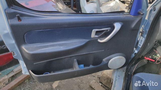 Обшивки дверей Citroen Berlingo Peugeot Partner