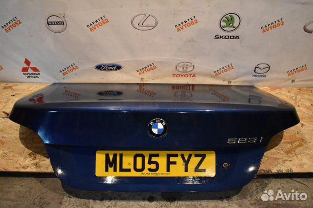 89307139175 Крышка багажника Bmw E60 BMW 5-series N43B20OL