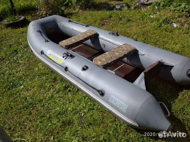 Продам лодку Адмирал 305 + мотор Ниссан Марин 5 89827505573 купить 2