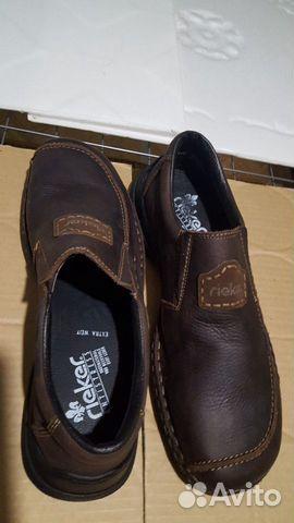 Кожаная обувь 45 размер (туфли)  89275064422 купить 5