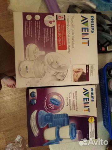 Молокоотсос ручной+контейнеры для заморозки молока  89235115577 купить 1