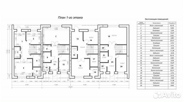 Таунхаус 120 м² на участке 16 сот.  89043659494 купить 2