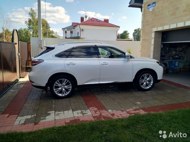 Lexus RX, 2013  89092683607 купить 5