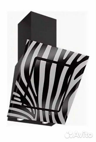 Вытяжка elikor Оникс 60 (черный/зебра)  купить 2