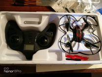 Квадрокоптер с камерой hubsanx4