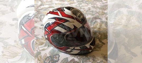Мото шлем (женский XS)