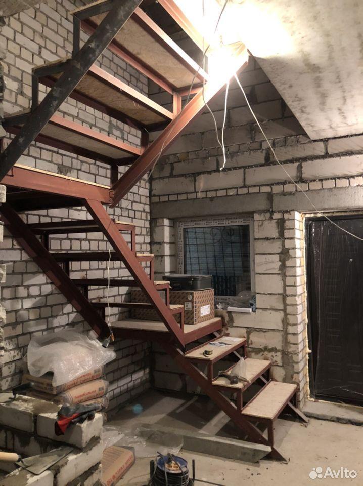 Лестница на металлокаркасе  89109367277 купить 1