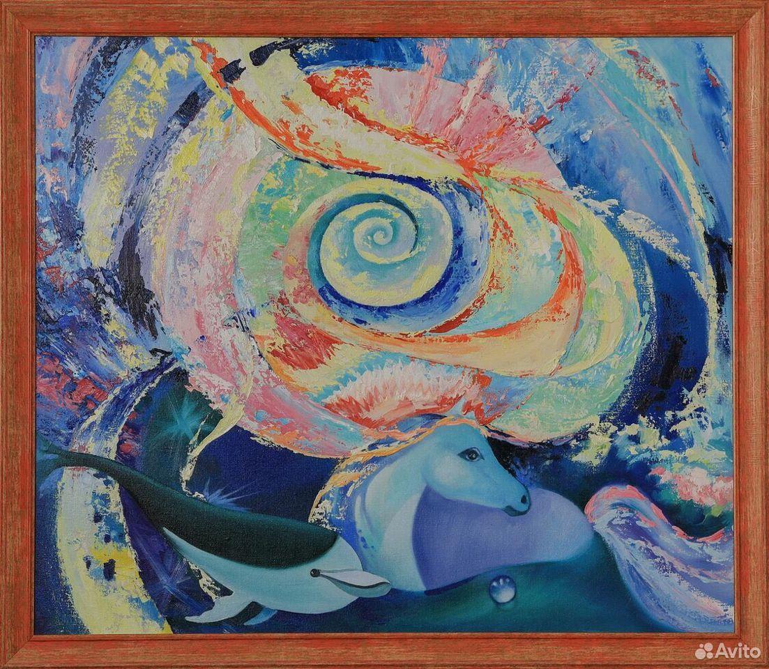 Картина холст масло живопись  89172043323 купить 1