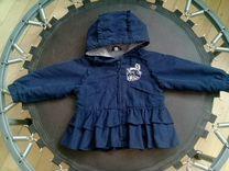 Куртка для девочки на весну осень