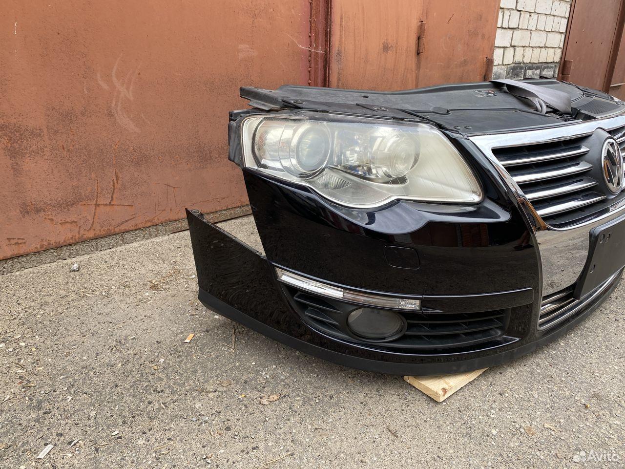 Ноускат черный Volkswagen Passat B6  89534684247 купить 2