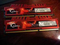 Оперативная память G.Skill DDR3 2133 мгц 2х4 Гб — Товары для компьютера в Перми