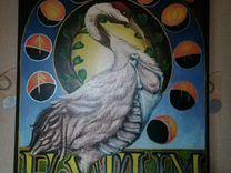 Картина написания акрилом