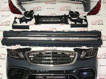 Комплект рестайлинга Mercedes Benz w222 S63 полный
