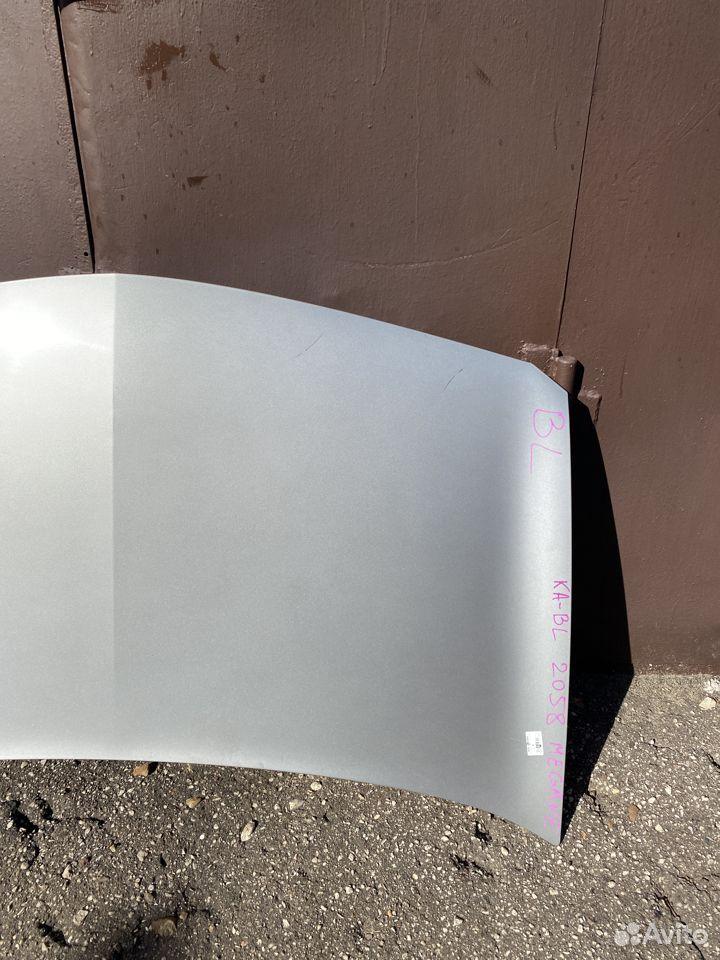 Капот серебристый Renault Megane 2  89534684247 купить 3