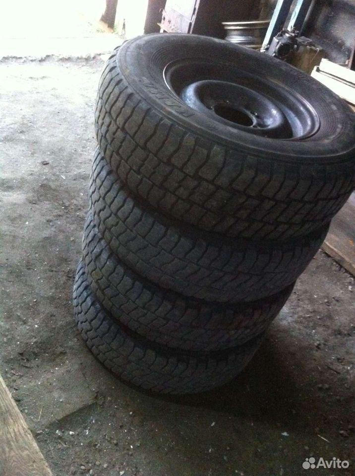 Продам колеса на УАЗ (пилигрим) накачаные на диска  89923343007 купить 3