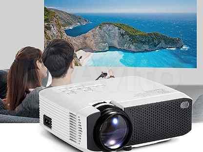 Новый проектор AUN D50 2500 люмен 854*480 dpi