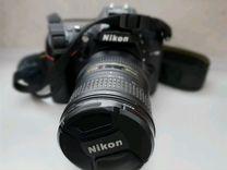 Nikon D 7100 с объективом Nikon 18-200 VR KIT