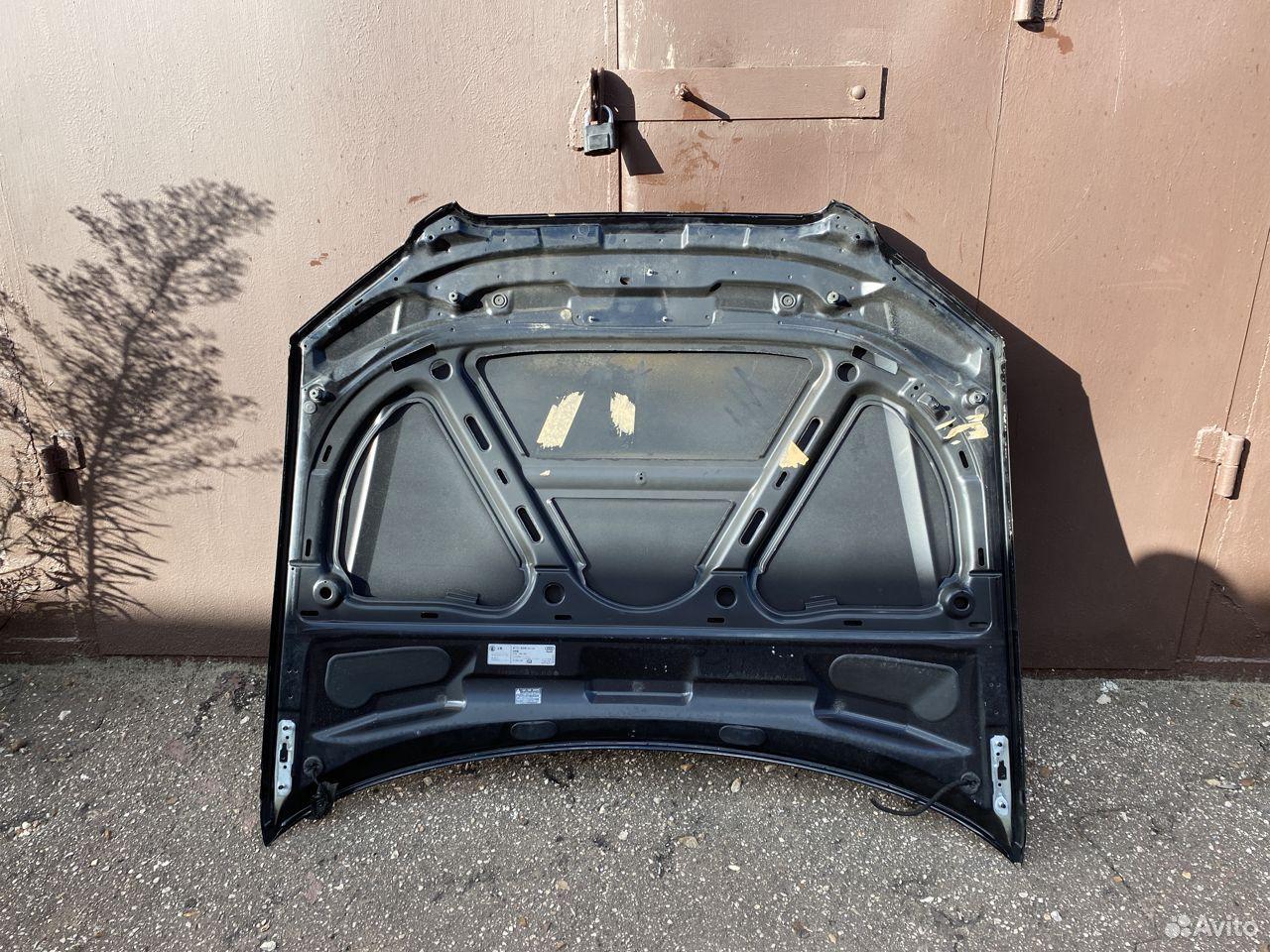 Капот черный Audi A4 B7 №2  89534684247 купить 4
