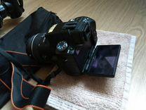 Sony A55 + доп. обьектив, штатив и тд