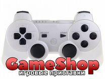 Геймпад PS3 Белый (Дубликат) Продажа