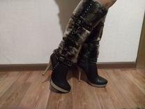 Продам сапоги — Одежда, обувь, аксессуары в Санкт-Петербурге