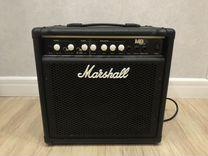 Комбоусилитель для бас-гитары marshall MB15