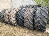 Шины на трактор б/у 600/70 R30 мишлен Magnum — Запчасти и аксессуары в Кирове