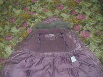 Пальто для девочки Пуховик