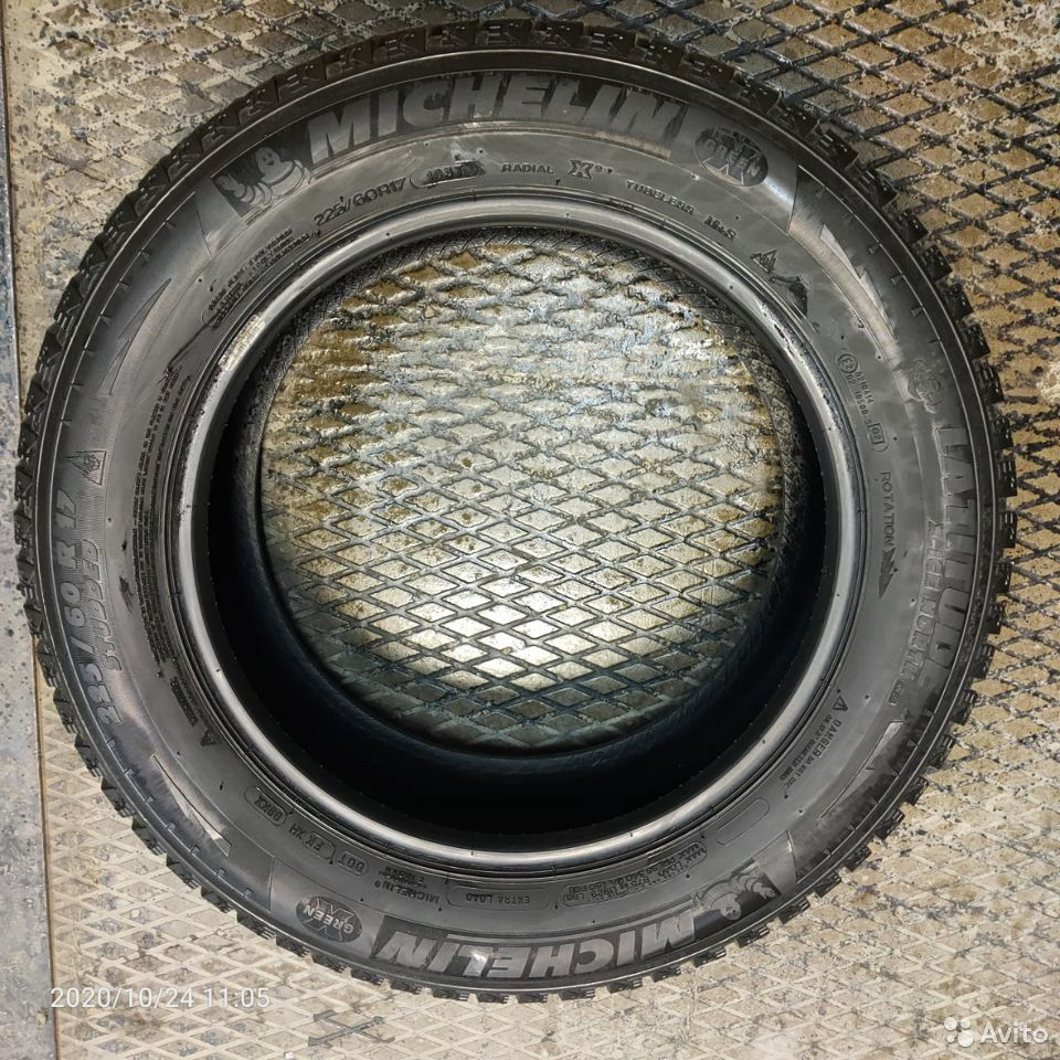 Продам комплект из 4-х шин Michelin Latitude X-ICE  89519882244 купить 1