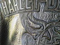Мотокуртка кожанная Harley Davidson XXL