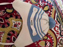 Шапка и шарф на мальчика 4-5 лет