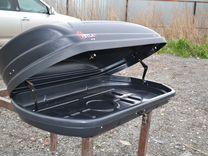 Автобокс Vetlan 350л черный на BMW 4 купе