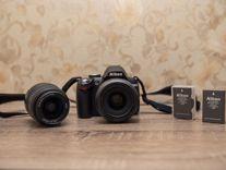Комплект Nikon D 3000 + объектив Nikkor 35 мм 1.8