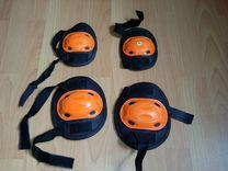 Комплект защиты коленей и локтей для спорта