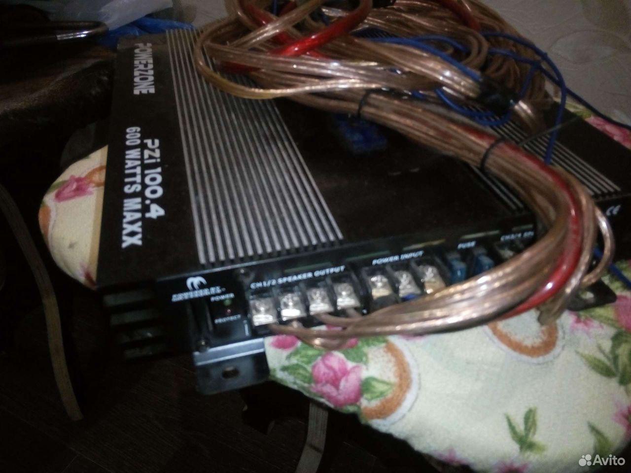 Музыка,усилитель магнитола и динамики провода ко  89997600744 купить 9