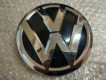 Эмблема VW передняя Фольксваген Поло 5 2014+